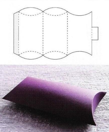 Voici quelques schémas à imprimer pour réaliser de jolies boîtes!