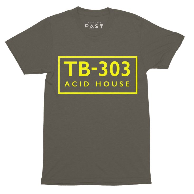 Premium Future Past Clothing TB-303 FAC51 Acid House T-Shirt / Khaki for only £24.97 Reimagined logo from the Hacienda FAC51 logo, replacing the text with TB-303 - due to the heavy association between the club and the birth of acid house music in the UK. Future Past original, guaranteed to make you look the bees knees. #AcidHouse #dove #RolandTb303 #DetroitTechno #FrankieKnuckles #TheWarehouse #HouseMusic #tshirts #NewOrder #BernardSumner #HappyMondays #AcidTrax #JoyDivision #FAC51 #Sl1210…