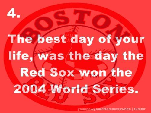 Fuck Yeah Boston Red Sox!