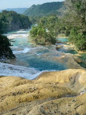 Aguas Azules near Palenque, Mexico