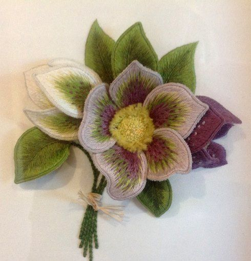 Best images about stumpwork on pinterest pansies