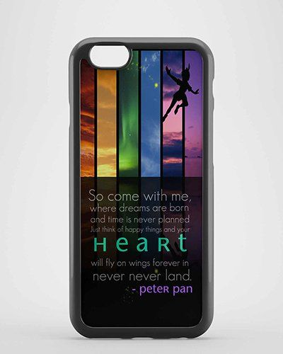 Peter Pan Quotes for iPhone Case ,Samsung Case,Ipad case etc
