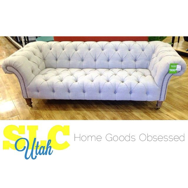 This couch was GORGEOUS in person  Only  999 99. 394 best Home Goods Obsessed images on Pinterest   Slc  Nyc and
