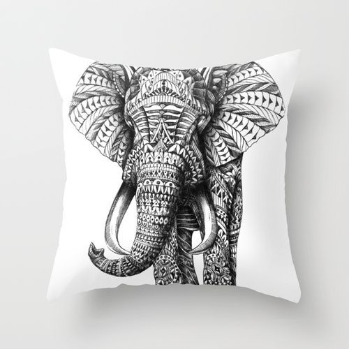 I WILL order this Ornate Elephant Throw Pillow! And maybe some other stuff as well.. I love this website! :)