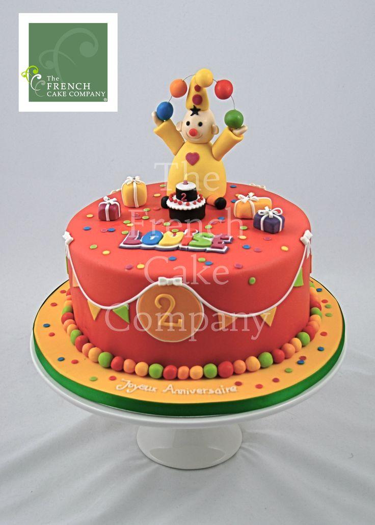 Childrens Birthday Cake Clown Gateau D Anniversaire Pour