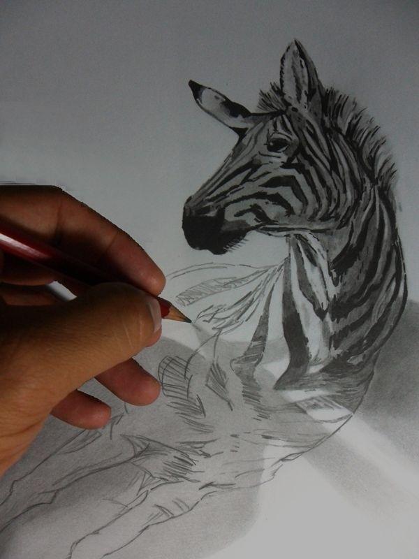 Desenhos Realistas feitos em 2012