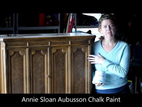 Part i how to apply the first coat of annie sloan chalk for Diy chalk paint problems