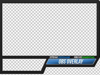 how to add overlay to obs