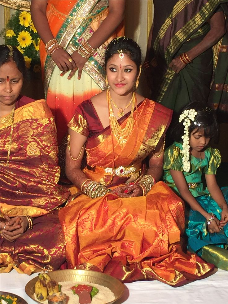 South Indian bride jewellery and attire