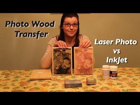 Un super truc de photo sur bois! Transférez toutes vos photos préférées! - Bricolages - Trucs et Bricolages
