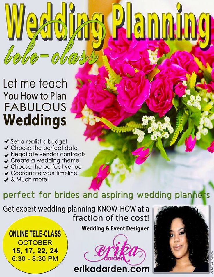 Erikadarden Weddingplanner Weddings Become A Wedding Planner Start Planning Business