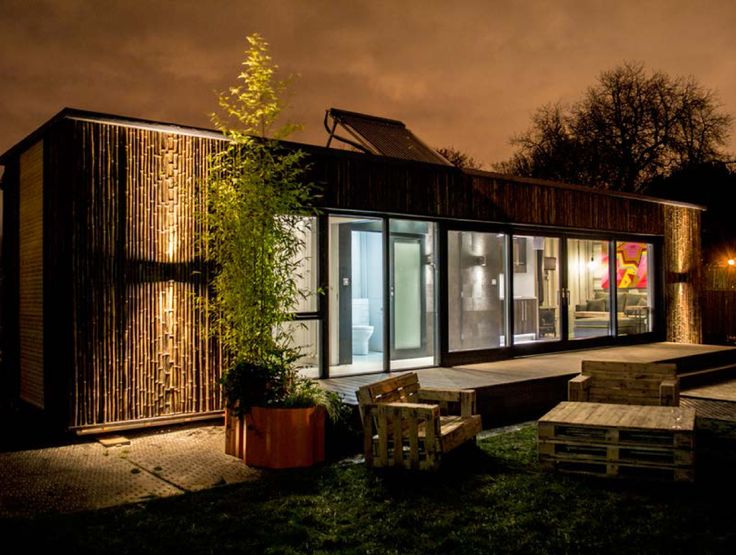 Conversion of a 40ft Shipping Container into an Emergency Home Unit