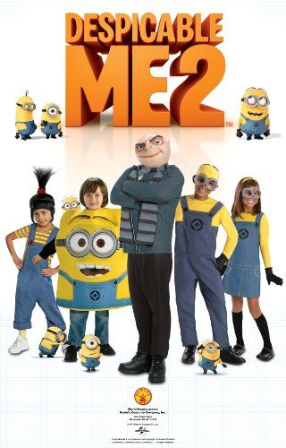 Secret Wishes Costume Despicable Me 2, Female Minion Dress With Accessories, Multicolor, Medium - Click image twice for more info - See a larger selection of women tv and movie costumes at  http://costumeriver.com/product-category/womens-tv-movie-costumes/ - women, halloween costumes, halloween fashion , classic costume, holidays, event, trick or treat , gift ideas, costumes, disguise
