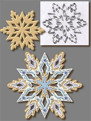Extra Large Snowflake Cookie Cutter  Christmas Cutters cakepins.com