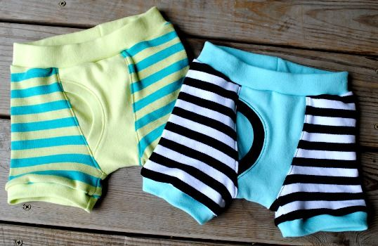 Undercover Bottoms Boxer Briefs Home Sew Pattern Sizes 12-18 months to 14 :: Fishsticks Designs Online Shop