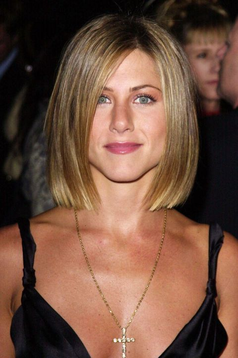 At the 27th Annual People's Choice Awards in 2001. See all of Jennifer Aniston's best looks.