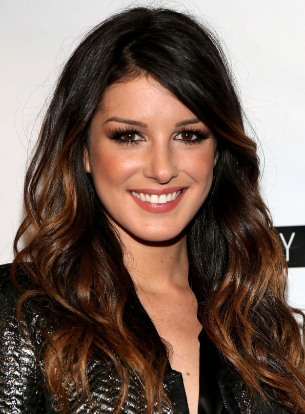 Мелирование на темные волосы от середины волос ::: onelady.ru ::: #hair #hairs #hairstyle #hairstyles