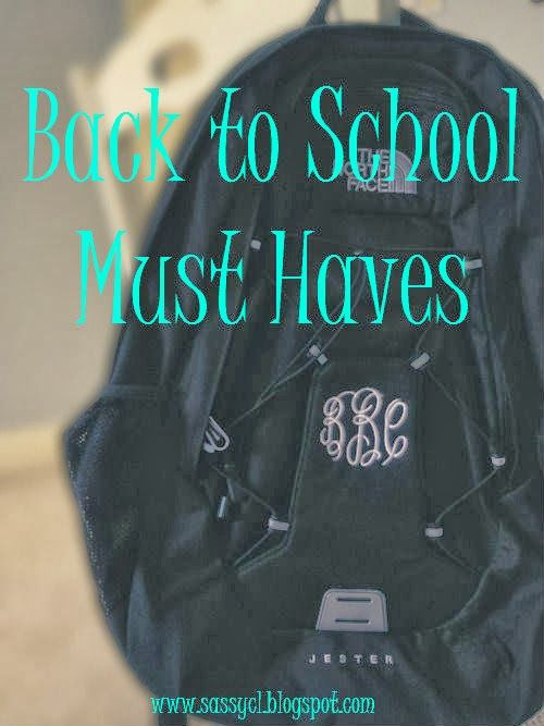 sassy&classy: Back to School Must Haves (Supplies)