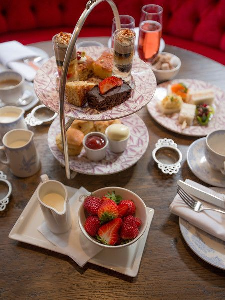 For afternoon tea in London, I would like to go to Pantry at 108, The Marylebone Hotel. They have a gluten-free afternoon tea!