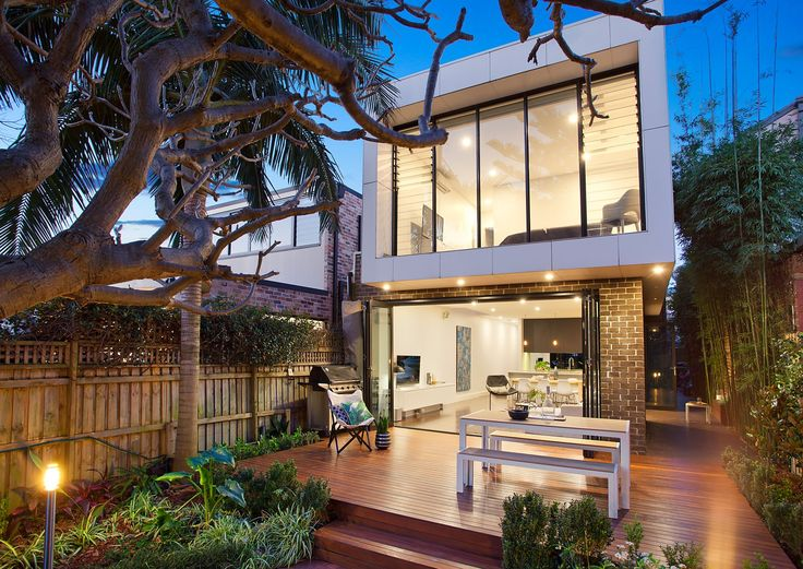 Creative design by architect Christopher Jordan reinvented this freestanding Federation home for ultra spacious modern living over two levels.