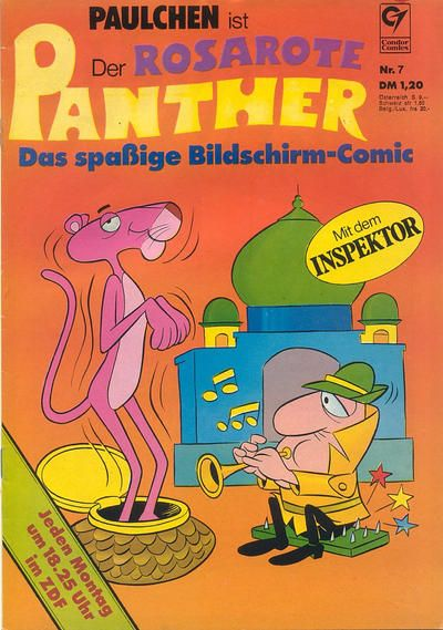 Cover for Der rosarote Panther (1973 series) #7