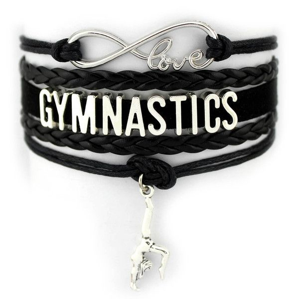 Gymnastics Infinity Love Bracelet