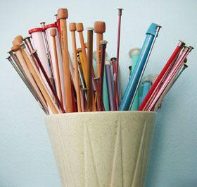iKnitts: Aprender a Tejer / Tutoriales / Que tipo y número de agujas usar