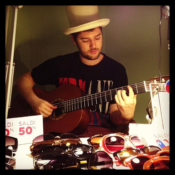 Eduardo playing guitar - Rejected Samples