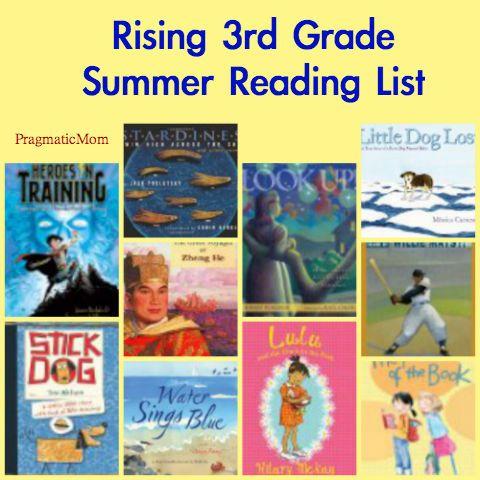 Going into 4th Grade Summer Reading List for Kids :: PragmaticMom