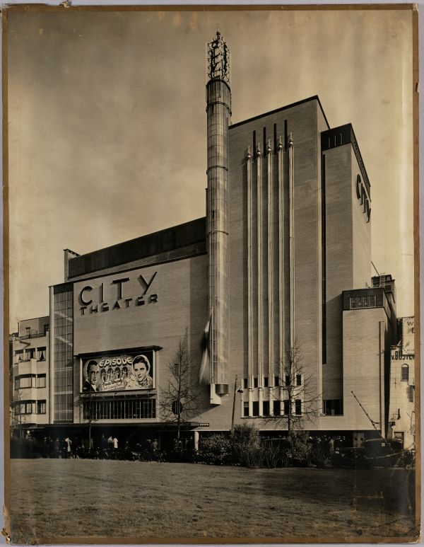 City Theater Amsterdam, 1935-1936. Architects: Jan Wils and O. Rosendahl.