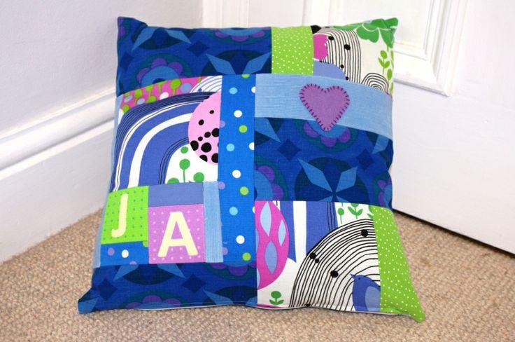 Retro fabric cushion
