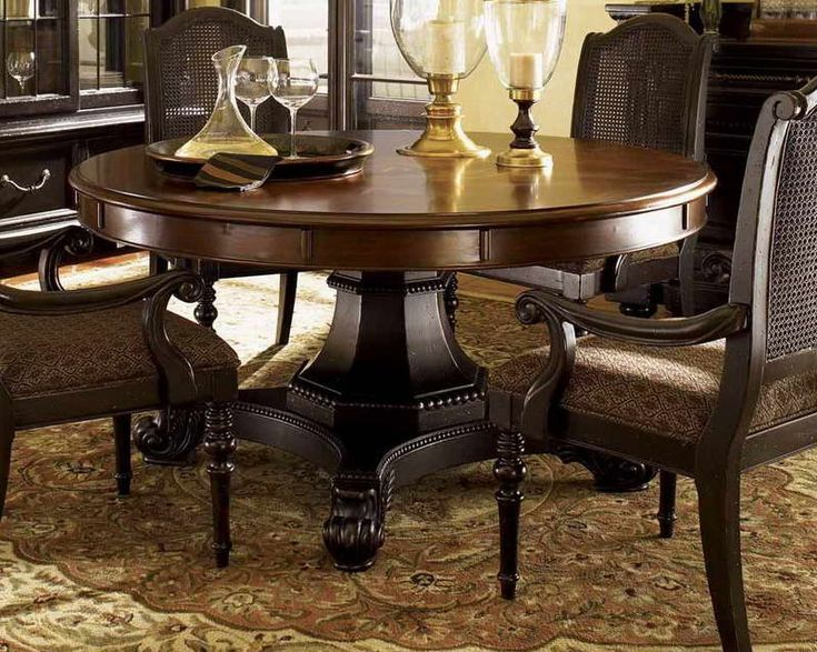 Round Dining Room Table Centerpiece