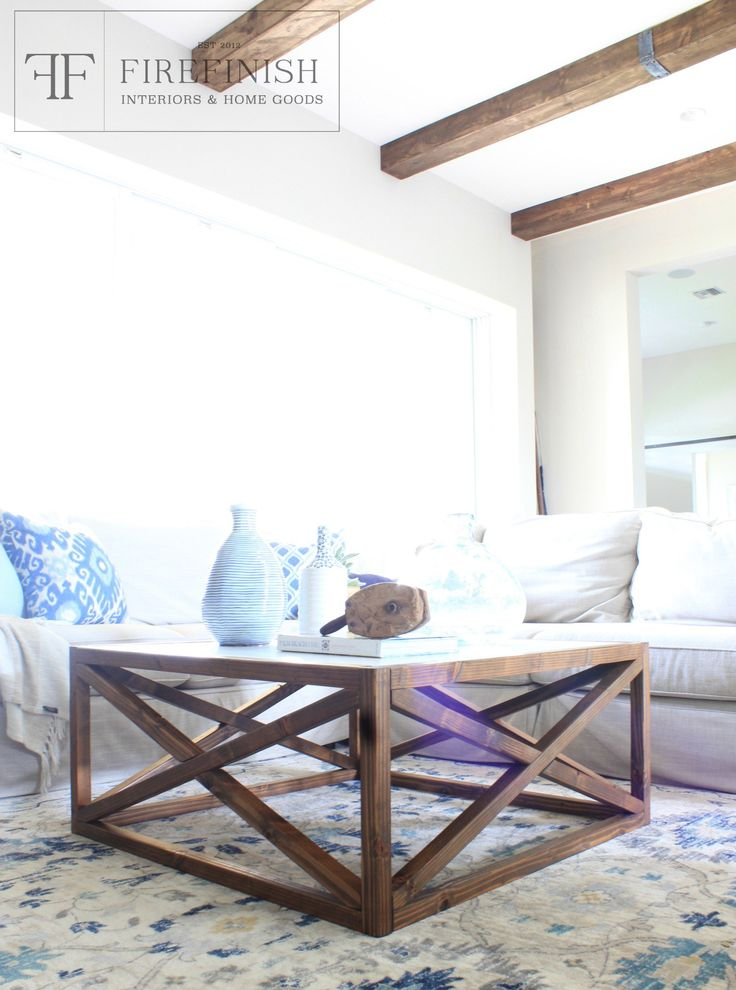 Coffee Table Plans Get The Look For Less