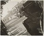 Asphalting a Street in Moscow, Alexander Rodchenko (Russian, St. Petersburg 1891–1956 Moscow), Gelatin silver print