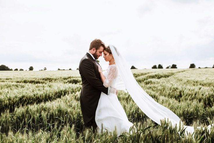 Bride and Groom from a rustic wedding at Cripps Barn in the Cotswolds. Photography by Frankee Victoria.