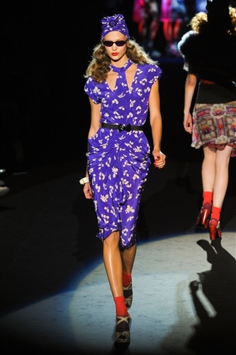 Anna Sui Spring 2012: A Forties Fashion Fantasy