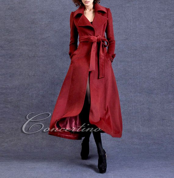 Best 25  Red wool coat ideas on Pinterest | Winter coats canada ...