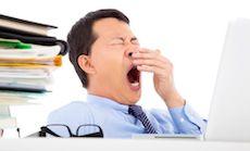 睡眠不足はテストステロンの減少を招く