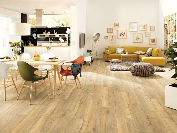 Están de moda los espacios abiertos, el comedor se integra al salón y a la cocina.