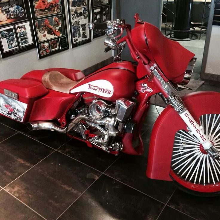 Turbo P Harley: 17 Best Images About Baggers/Dressers On Pinterest