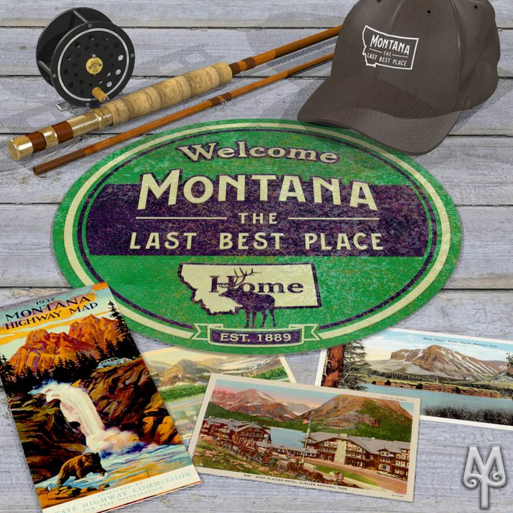 Add this decorative, metal wall sign to your home or cabin; and, show everyone that you love Montana, 'The Last Best Place.'