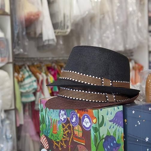 Classy and Handsome Fedora Hats in Store Now at Bon Bon Tresor