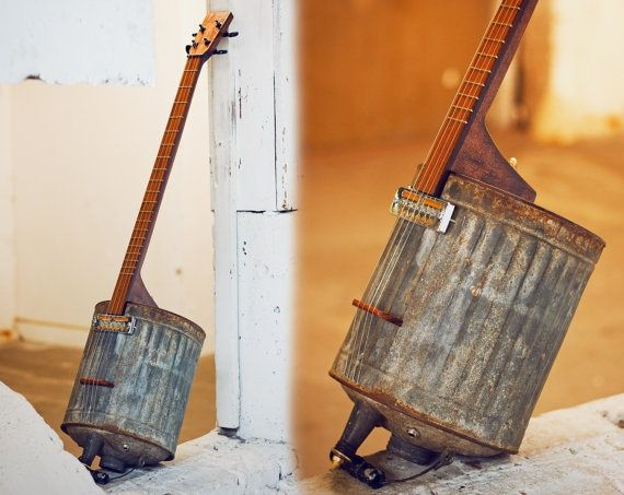 Electric Guitar Vintage Gas Can Music Instruments Diy