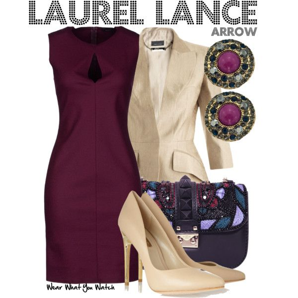 Inspired by Katie Cassidy as Laurel Lance on Arrow.