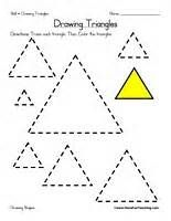 Triangle Worksheets for Preschool - Bing Images