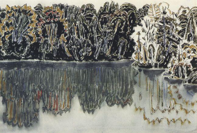 David Milne   Dark Shore Reflected, Bishop's Pond