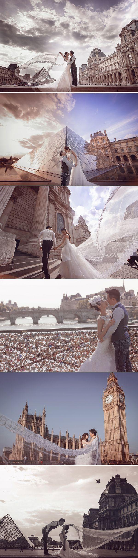 The Most Romantic Getaway! 35 Breathtaking Europe Pre-wedding Photos