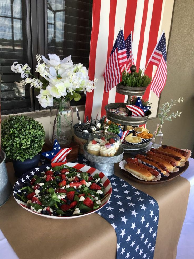 Designed To The Nines | Patriotic Party Ideas for Memorial Day or 4th of July | Pottery Barn Look Alikes | Red, White, and Blue Decor Ideas