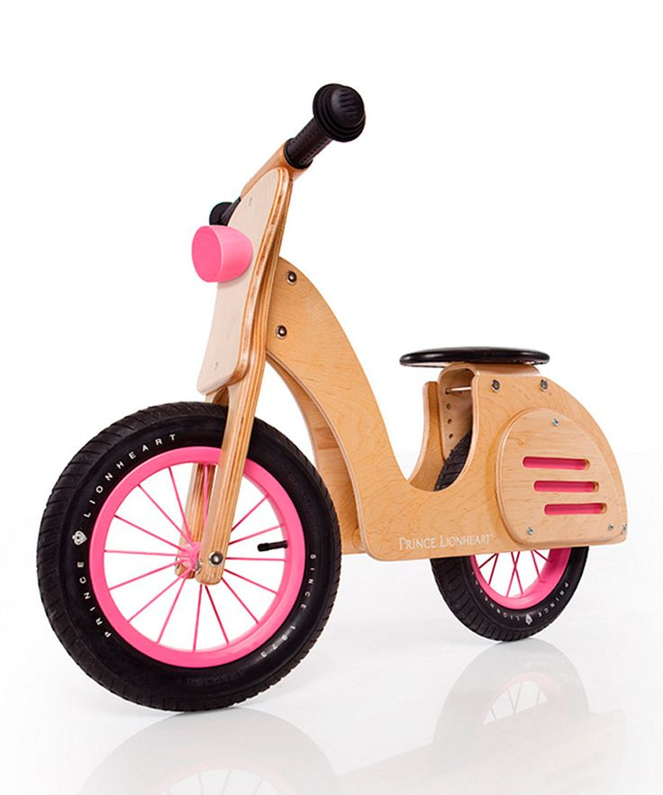 Birch Wood Balance Scooter // Stylin' awesome #toydesign