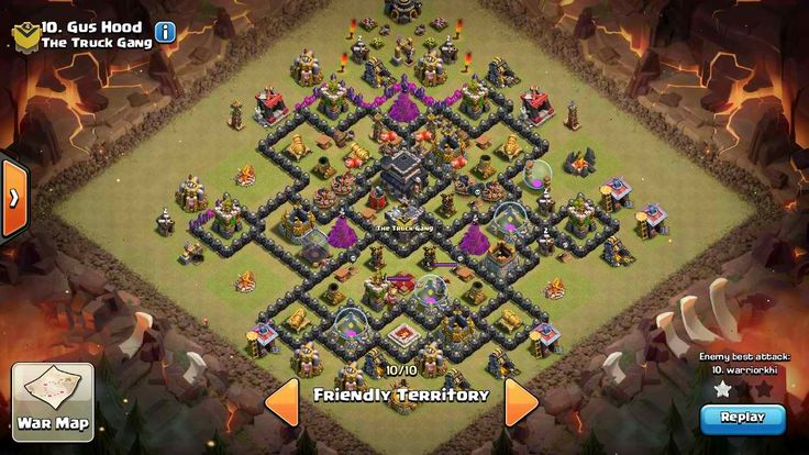 I call it th 8.5.1 War Base ( no x-bow yet)